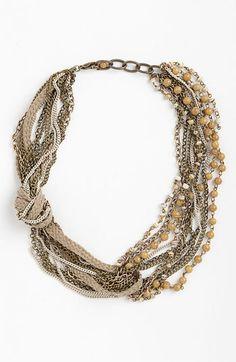 Bonnie Jonas Multistrand Necklace     $38.00