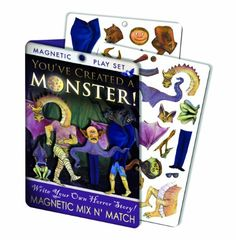 You've Created A Monster!, 2015 Amazon Top Rated Paper & Magnetic Dolls #Beauty