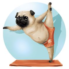 Pug stretch.