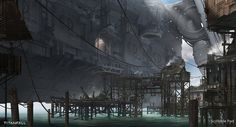 ArtStation - Concept Design for - TitanFall, Scribble Pad Studios