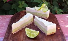 Raw Vegan Recipes by Rocki: Raw Lemon Lime Coconut Cheesecake - Vegan and…