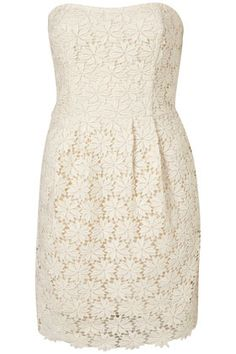 LIMITED EDITION Broderie Bustier Dress** - Dresses  - Apparel  - Topshop USA