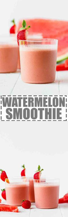 Easy Watermelon Smoo