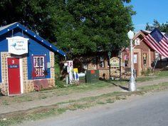 Main Street, Medicine Park, Oklahoma