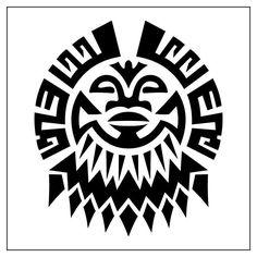 Unique Black Tribal Tattoos Design For Men