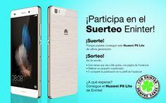 ¡Participa en el #suerteoeninter de un Huawei P8 Lite!