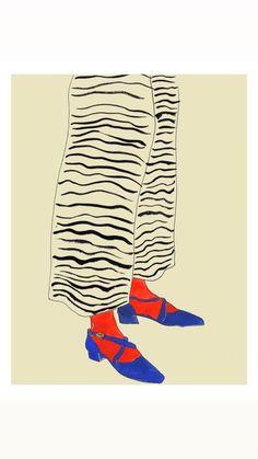 Artist Rosie Mcguinness at Illustration Division Art And Illustration, Illustration Inspiration, Wow Art, Art Inspo, Painting & Drawing, Illustrators, Fashion Art, Design Art, Art Drawings