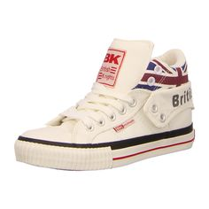 NEU: British Knights Sneaker Roco - B30-3798-01 - white/union jack -