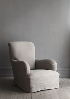 OLIVER GUSTAV  ARMCHAIR WITH HEMP UPHOLSTERY  W 80 X D 104 X H 95 CM  MADE TO ORDER  AVAILABLE IN OUR COPENHAGEN  STUDIO AND NEW YORK CITY STUDIO