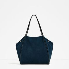 LEATHER TOTE-View all-BAGS-WOMAN | ZARA United States