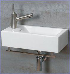 Whitehaus WH114L Isabella Wall Mount Bathroom Sink, White - Amazon.com
