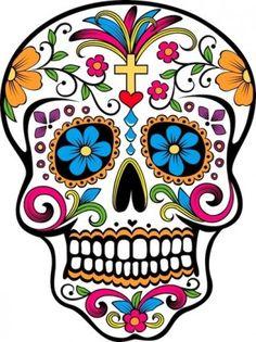 free dia de los muertos printables free | día de los muertos celebración. Arte latino para celebrar el día de ...