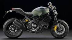 Ducati Monster Diesel Edition - Two iconic brands, Ducati and Diesel come together to bring you the Ducati Monster Diesel Edition.    The bike starts with Ducati's Monster 1100EVO and comes with the standard black Trellis frame, wheels and engine covers.