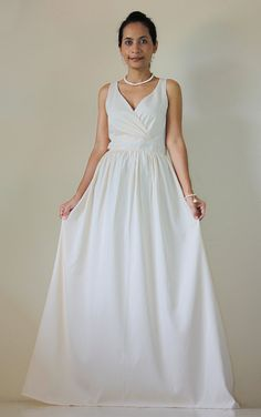HOT PRICE from 69 now 59   Cream Maxi dress Classy Sexy by Nuichan, $59.00