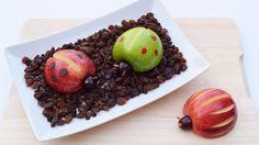 Apple Ladybugs #fruit #summer #halloween #bento
