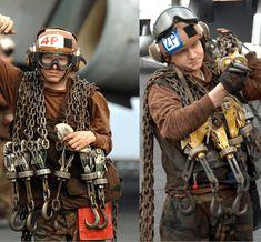 navy_brown_shirt_chain_and_chocks