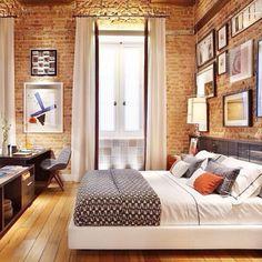 10 ambientes de tijolinho que fazem sucesso no Pinterest