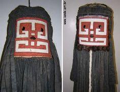 Máscaras do sobrenatural Tamokó, índios Wayana-Apalay (Pará)