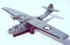 WWII Consolidated PBY-5 Catalina Flying Boat Ver.3 Free Aircraft Paper Model Download