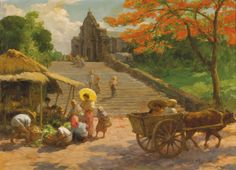 Fernando Amorsolo ~ Genre and Historical painter | Tutt'Art@ | Pittura * Scultura * Poesia * Musica |