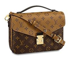Get one of the hottest styles of the season! The Louis Vuitton Pochette Metis Brown Monogram Reverse Canvas Shoulder Bag is a top 10 member favorite on Tradesy. Save on yours before they're sold out! Louis Vuitton Handbags, Tote Handbags, Louis Vuitton Monogram, Vuitton Bag, Leather Handbags, Canvas Shoulder Bag, Shoulder Handbags, Calf Leather, Black Leather