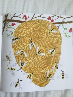 Wasp Nest - Wild Savannah Book, Millie Marotta