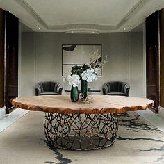 Esstisch Modern opium dining table tafel esszimmertisch opium dining table