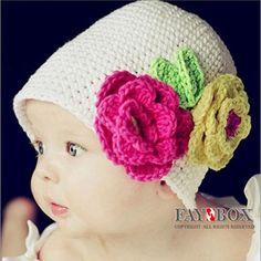 ホット! 24pcs/lot! フクロウのかぎ針編みのベビー帽子、 子供用かぎ針編み動物ビーニー、 クリスマスキャップ、 送料無料!