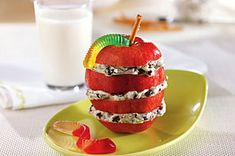 OREO-Apple Snack Stacks recipe