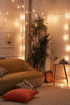 love these Lilac Tinted Globe String Lights with tinted bulbs to add interest to any space. Perfect for party decor or to use a unique way to light a room!