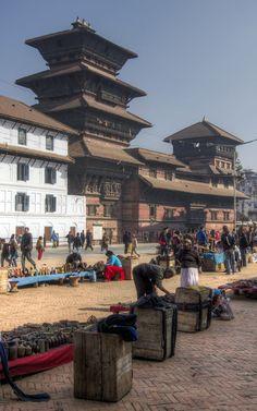 Kathmandu market, Nepal #3TN Travel Tour Trek Nepal