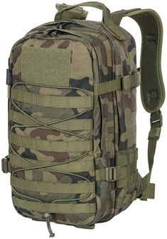 Helikon-Tex Raccoon Mk2 PL Woodland - Mochila: Amazon.es: Ropa y accesorios Molle Backpack, Hiking Backpack, Molle System, Everyday Carry, Woodland, Military, Backpacks, Amazon, Bushcraft