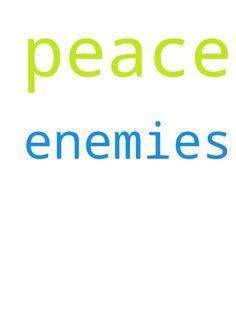 peace with my enemies -  peace with my enemies  Posted at: https://prayerrequest.com/t/8wV #pray #prayer #request #prayerrequest