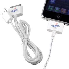 L.A. Dodgers 2-Pack USB Charge & Sync Cables
