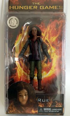 The Hunger Games Rue 7 inch Action Figure - Exclusive Rue Hunger Games, Game 7, Toys For Girls, Action Figures, Age, Movie Posters, Fictional Characters, Collectible Toys, Amazon