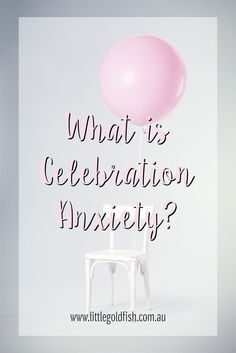 I don't even know if it's a real thing, but I have (personal) celebration anxiety. It's awful. Anxiety Disorder Symptoms, Deal With Anxiety, Mental Health Issues, Goldfish, Wise Words, Celebration, Wisdom, Group, Awesome