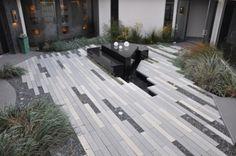 Linear. Tiles...imagine a below ground runnel