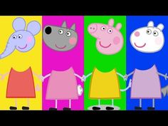 Wrong Heads For Kids Peppa Pig And Friends #3 Full Episodes Family Song Nursery Rhymes Kids Hangout - YouTube