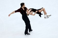 sexy :D!! SOCHI, RUSSIA - FEBRUARY 17: Kaitlyn Weaver and Andrew Poje of Canada compete in the Figure Skating Ice Dance Free Dance on Day 10 of the Sochi 2014 Winter Olympics at Iceberg Skating Palace on February 17, 2014 in Sochi, Russia. (Photo by Clive Mason/Getty Images)