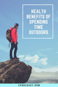 Health benefits that show how spending time outdoors is vital to our happiness! Great health tips!