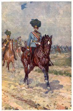 Ludwig Koch: The Supreme Commander of the Army, Emperor Franz Joseph I, illustration, 1907 | Der Erste Weltkrieg