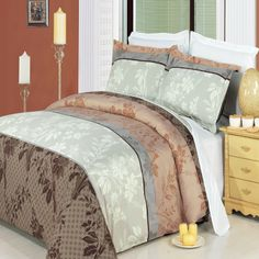With Love Home Decor - RT™ Cypress 3-Pieces100% Egyptian Cotton Comforter Cover (Duvet Cover Set), $99.99 Click here for full description www.withlovehomedecor.com/products/rt-cypress-3-pieces100-egyptian-cotton-comforter-cover-duvet-cover-set.html