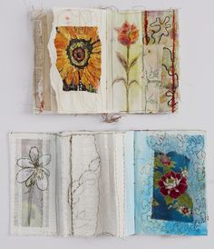 Garden sketchbooks Cloth, Creativity & Collaborating: Cas Holmes & Anne Kelly