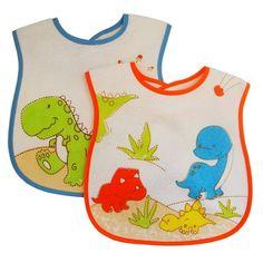 Kidiway Large Bib, Dinosaurs, 2 Count Kidiway http://www.amazon.com/dp/B00IOGJWVK/ref=cm_sw_r_pi_dp_OGfNtb1HVN0605WN