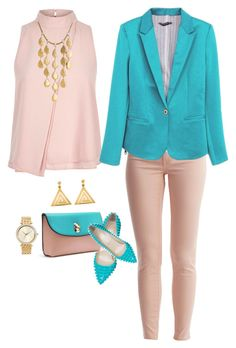 57eab6ab64 Outfit Oficina Viernes by johana-quijanocortes on Polyvore featuring  polyvore
