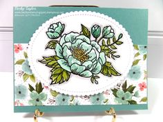 Birthday Blooms, Birthday Bouquet DSP, watercolor, stampinup