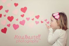 A cute idea for a Valentine's Day portrait or mini session! Photo credit: Anna Bartell Photography