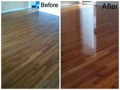 Before And After Stanley Steemer Tile And Grout Cleaning