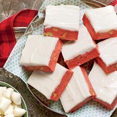 Red Velvet Fudge -- Southern Living