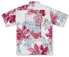 Tommy bahama shirt m hawaiian silk jimmy buffett black for Tommy bahama christmas shirt 2014